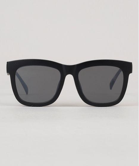 efbd73208 Oculos-de-Sol-Quadrado-Masculino-Oneself-Preto-9124690- ...