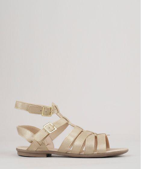 927b01d739 Sandalia-Gladiadora-Metalizada-Dourada-9040202-Dourado 1 ...