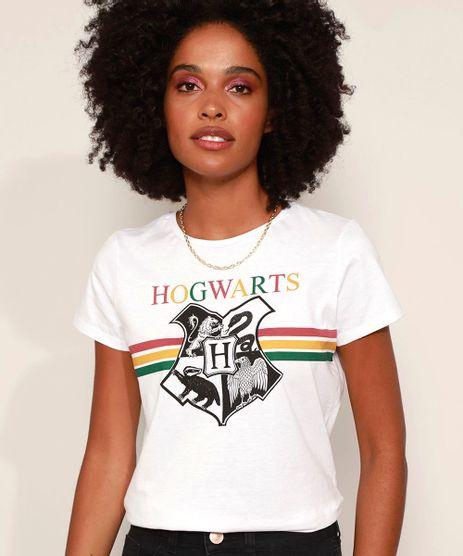 Camiseta-Feminina-Harry-Potter-Hogwarts-Manga-Curta-Decote-Redondo-Off-White-9973835-Off_White_1