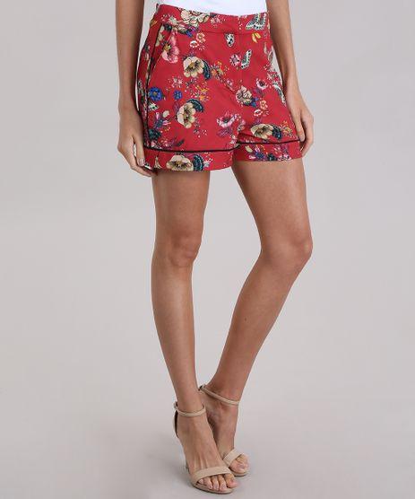 Short-Estampado-Floral-Vermelho-9019724-Vermelho_1