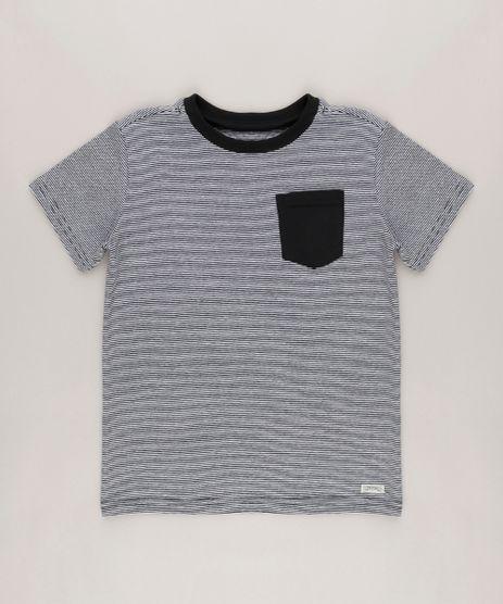 Camiseta-Listrada-com-bolso--Preta-9035896-Preto_1