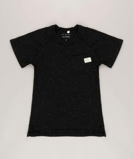 Camiseta-Botone-bolso-com-respingos-Preta-9037910-Preto_1