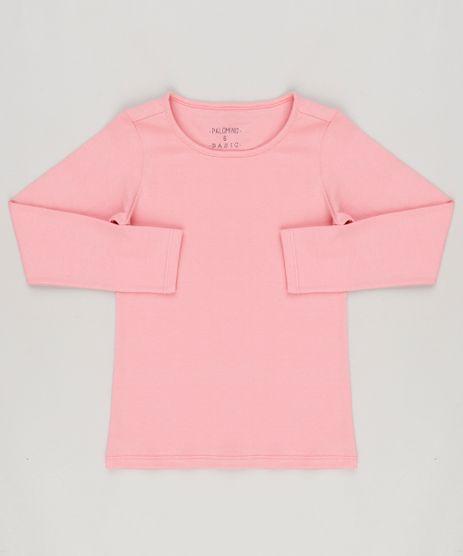 Blusa-Basica-em-algodao---sustentavel-Rosa-Escuro-9048702-Rosa_Escuro_1