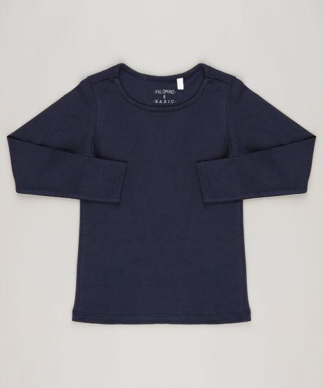 Blusa-Basica-em-algodao---sustentavel-Azul-Marinho-9048701-Azul_Marinho_1