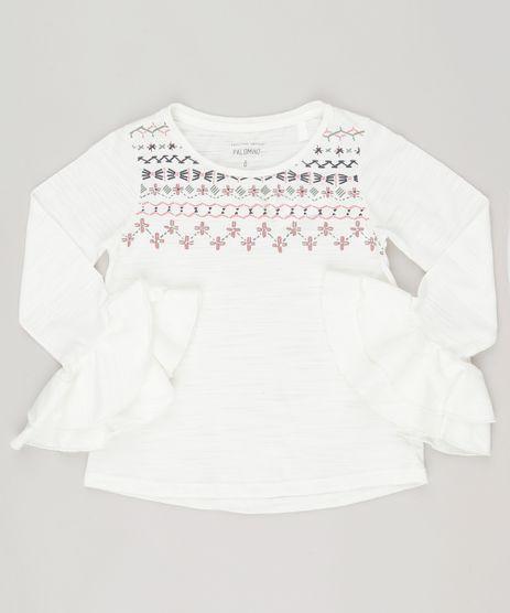 Bata-Flame-com-estampa-floral-e-babados-em-algodao---sustentavel-Off-white-9101545-Off_White_1