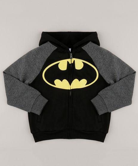 Blusao-em-Moletom-com-Felpa-Batman-em-algodao---sustentavel--Preto-8838725-Preto_1