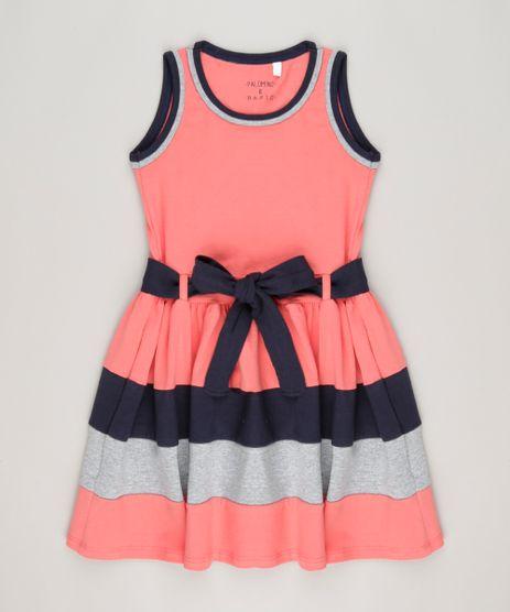 Vestido-com-laco-Algodao---sustentavel-Coral-9048675-Coral_1