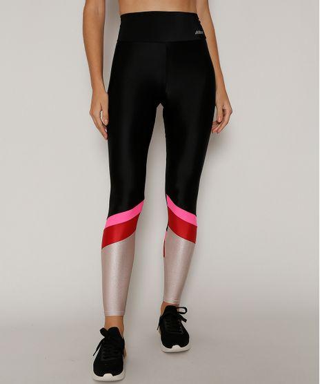 Calca-Legging-Feminina-Esportiva-Ace-Color-Block-com-Brilho-Preta-9968021-Preto_1