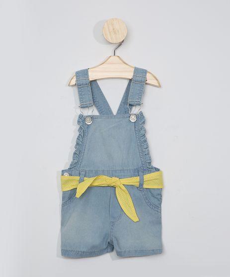 Jardineira-Jeans-Infantil-com-Faixa-Azul-Medio-9975258-Azul_Medio_1