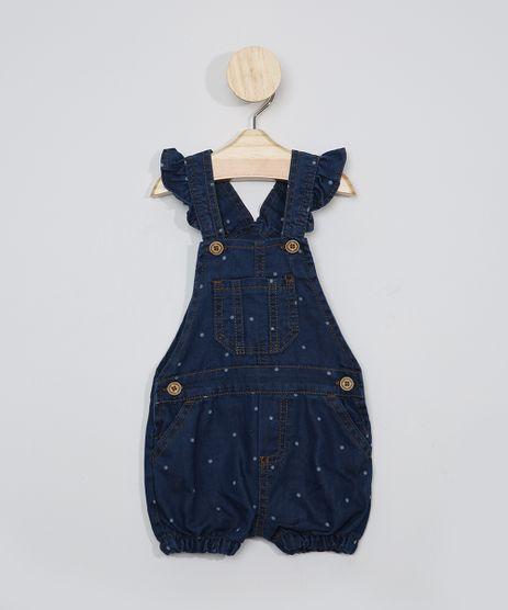 Jardineira-Jeans-Infantil-Estampada-Poa-Azul-Escuro-9968306-Azul_Escuro_1