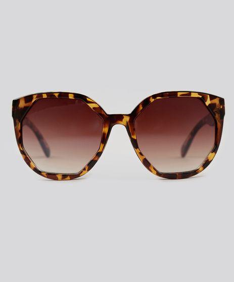 Oculos-de-Sol-Redondo-Feminino-Oneself-Tartaruga-9124729-Tartaruga_1