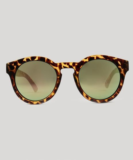 Oculos-de-Sol-Redondo-Feminino-Oneself-Tartaruga-9124767-Tartaruga_1