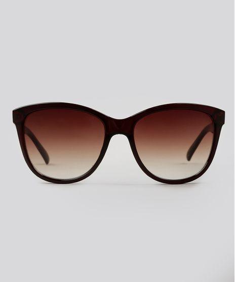 3d3ee0bfa20c6 Oculos-de-Sol-Gatinho-Feminino-Oneself-marrom-9124699-