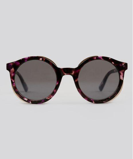 Oculos-de-Sol-Redondo-Feminino-Oneself-Tartaruga-9124747-Tartaruga_1