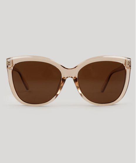 6d18a75efa3fd Oculos-de-Sol-Redondo-Feminino-Oneself-Transparente-9124714-