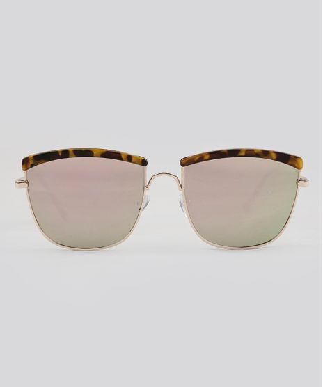 Oculos-de-Sol-Quadrado-Feminino-Oneself-Dourado-9124756-Dourado_1