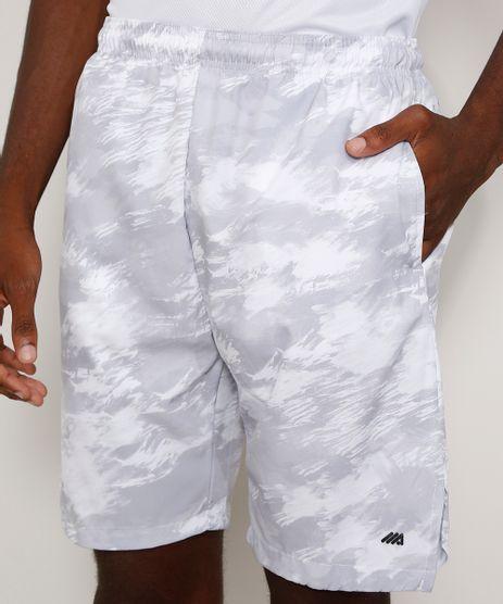 Bermuda-Masculina-Esportiva-Ace-Estampada-com-Bolsos-Branca-9968840-Branco_1