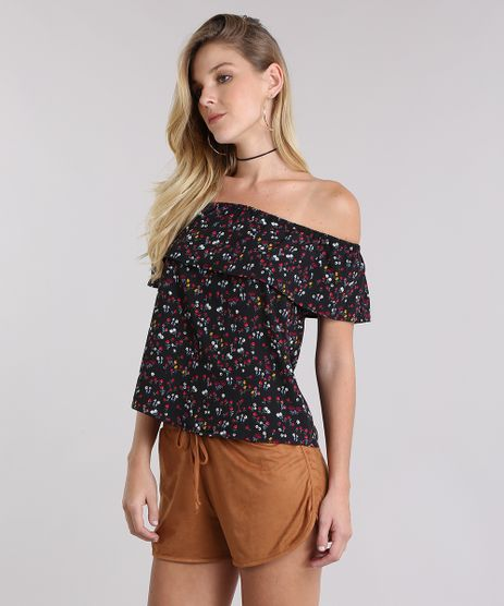 Blusa-Ombro-a-Ombro-Estampada-floral-Preta-8850765-Preto_1