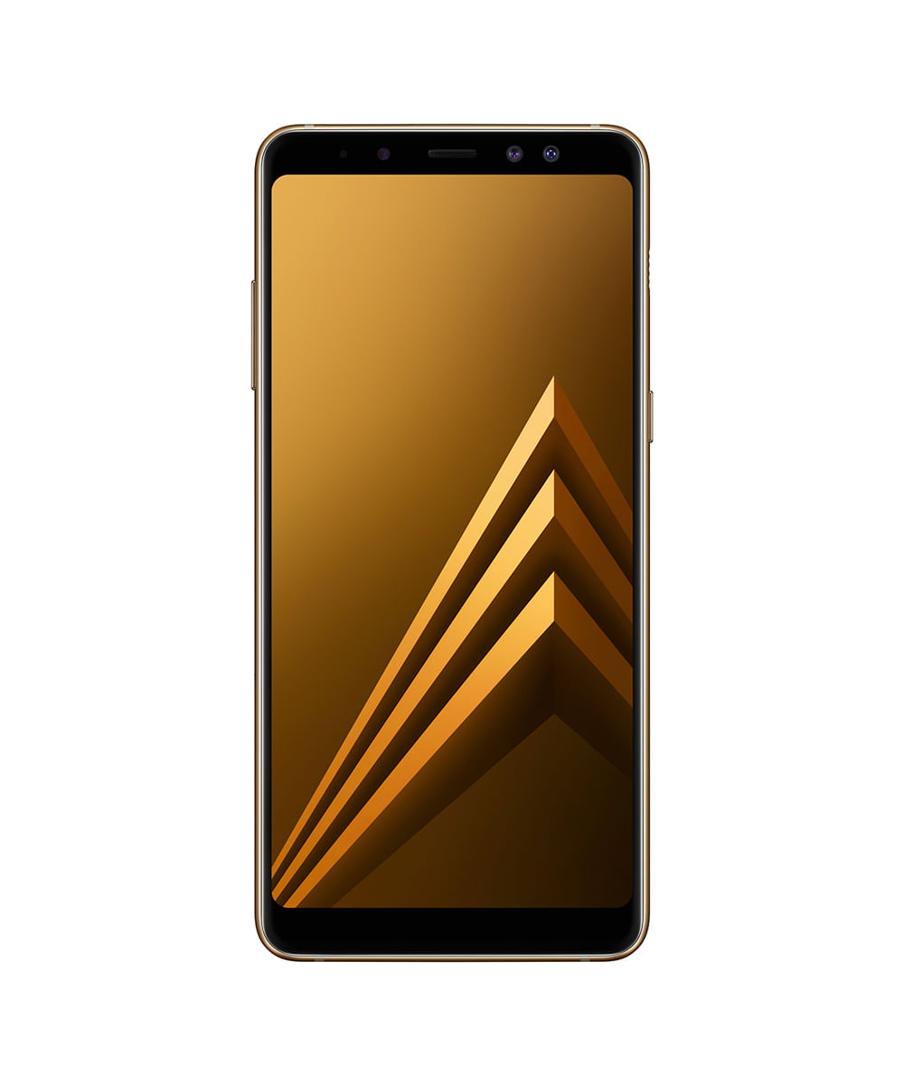 531e5a8b7 Smartphone Samsung A730F Galaxy A8 Plus 64GB Open Dourado - cea