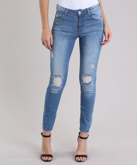 Calca-Jeans-Cigarrete-Destroyed-Azul-Medio-8633563-Azul_Medio_1