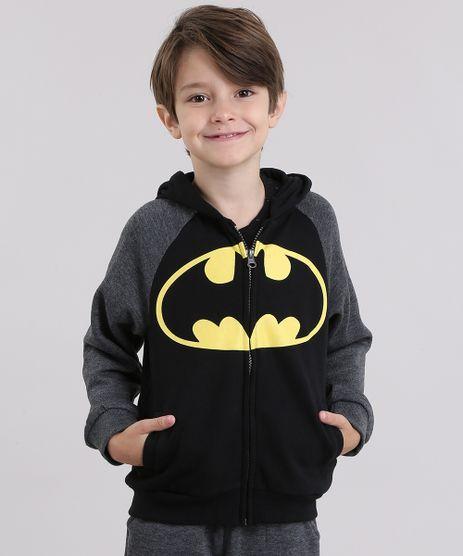 Blusao-Batman-em-Moletom-de-Algodao---Sustentavel-Preto-8838725-Preto_1