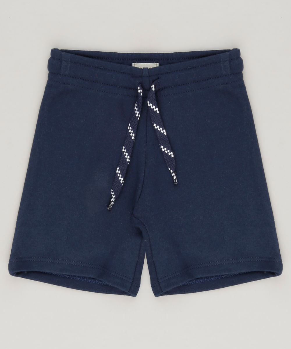 ... Bermuda-em-Moletom-Azul-Marinho-8615081-Azul Marinho 1 041f66eb11f