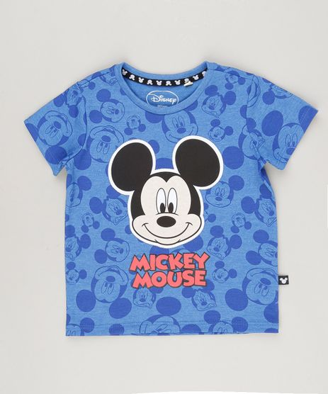 Camiseta-Estampada-Mickey-Mouse-Azul-8787102-Azul_1