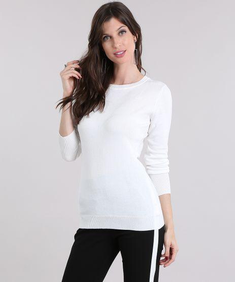 Sueter-Feminino-em-Trico-Manga-Longa-Gola-Redonda-Off-White-8465830-Off_White_1
