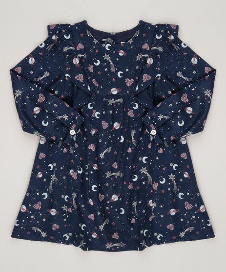 Vestido-Estampado-de-Estrelas-Azul-Marinho-8860220-Azul_Marinho_1