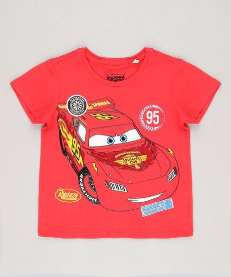 Camiseta-Infantil-Carros-Decote-Careca-Manga-Curta-em-Algodao---Sustentavel-Vermelha-8614280-Vermelho_1