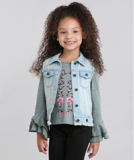 Colete-Jeans-Infantil-Destroyed-Desfiado-com-Ilhos-Azul- 2605216c46794
