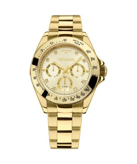ced5a0773f6 Relógio Technos Ladies Feminino Dourado 6P29AIT 4X - cea