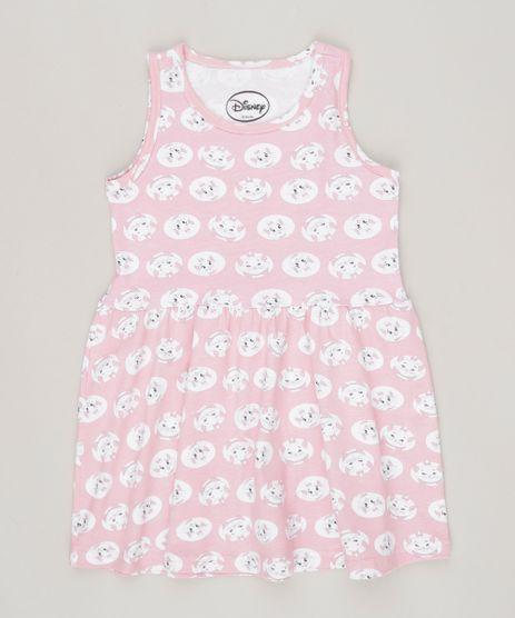 Vestido-Infantil--Estampado-Marie-Sem-Manga-Rosa-9083935-Rosa_1