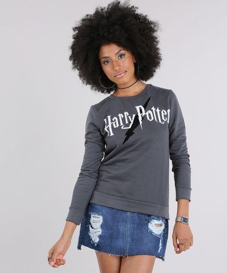 Blusao-em-Moletom-Harry-Potter-Chumbo-9013728-Chumbo_1