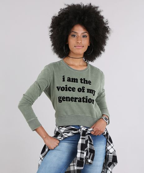 Blusao-em-Moletom-Cropped--Voice-of-my-Generation--Verde-Militar-8282622-Verde_Militar_1