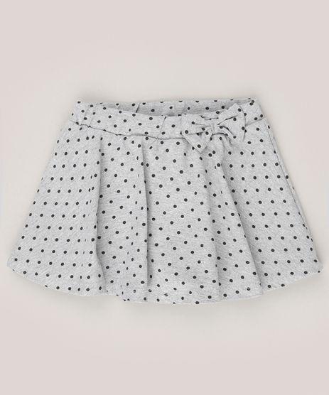Short-Saia-Infantil-com-Laco-Estampado-de-Poa-Cinza-Mescla-9078755-Cinza_Mescla_1