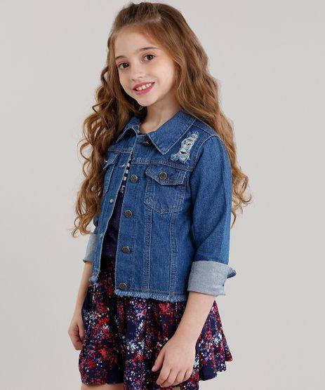 Jaqueta-Jeans-Infantil-Destroyed-Azul-Escuro-8649309-Azul_Escuro_1
