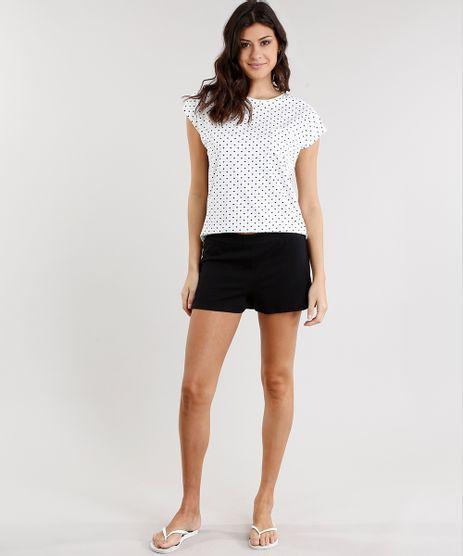 Pijama-Feminino-Estampado-de-Coracoes-Manga-Curta-Decote-Redondo-Off-White-8954405-Off_White_1