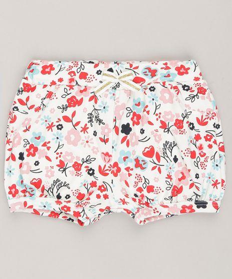 Short-Infantil-Estampado-Floral-em-Algodao---Sustentavel-Off-White-9058502-Off_White_1