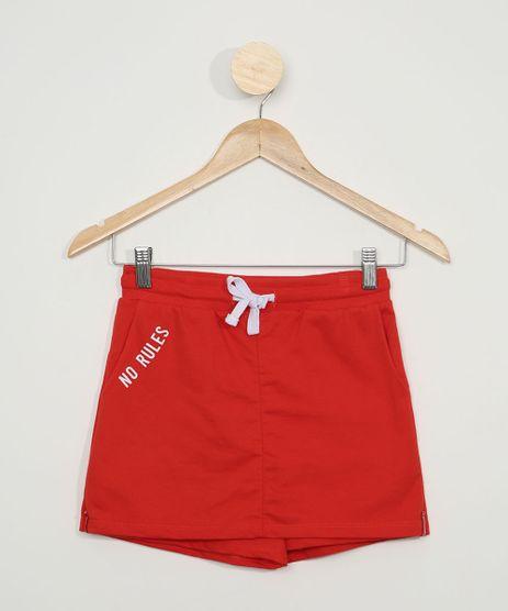 Short-Saia-de-Moletom-Juvenil--No-Rules--Vermelho-9965409-Vermelho_1