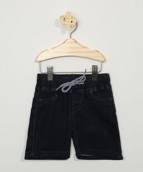 Bermuda-Jeans-Infantil-Reta-com-Cordao-Azul-Escuro-9973729-Azul_Escuro_1