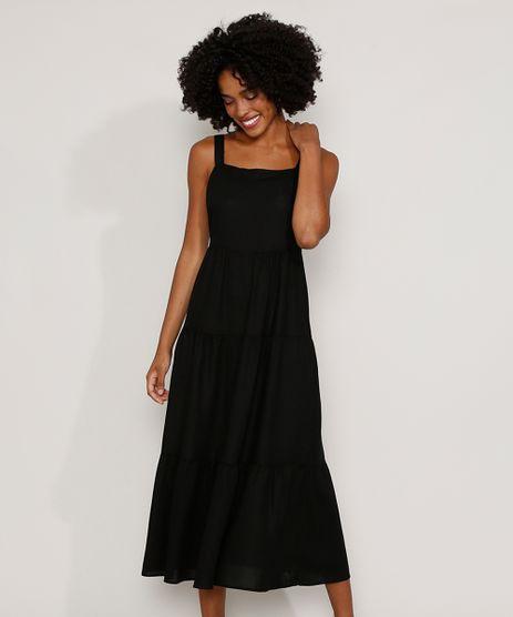 Vestido-Feminino-Longo-com-Recortes-Alca-Laco-Preto-9976764-Preto_1