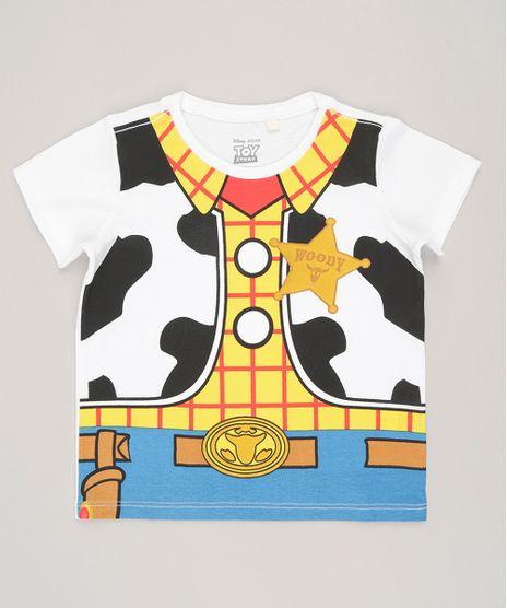 Camiseta-Infantil-Woody-Toy-Story-Manga-Curta-Gola-Redonda-em-Algodao---Sustentavel-Branca-8544834-Branco_1