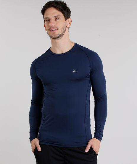 Camiseta-Masculina-Esportiva-Ace-com-Protecao-UV50--Manga-Longa-Gola-Redonda-Azul-Marinho-8285743-Azul_Marinho_1