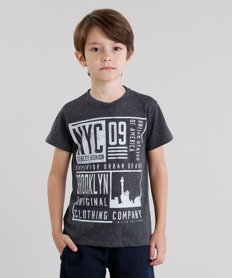Camiseta-Infantil--NYC--Manga-Curta-Gola-Redonda-Cinza-Mescla-Escuro-8614862-Cinza_Mescla_Escuro_1