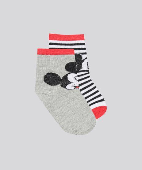 Kit-de-2-Meias-Infantis-Mickey-Multicor-9052153-Multicor_1