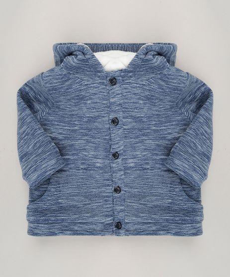 Blusao-Infantil-em-Fleece-com-Capuz-de-Orelhinhas-e-Pelo-Azul-Marinho-8878422-Azul_Marinho_1