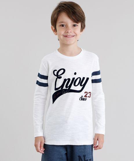Camiseta-Infantil--Enjoy--Manga-Longa-Gola-Redonda-Off-White-9046330-Off_White_1