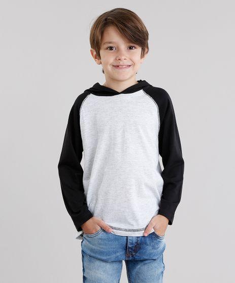 Camiseta-Infantil-Raglan-Basica-com-Capuz-Maga-Curta-Cinza-Mescla-Claro-9049277-Cinza_Mescla_Claro_1