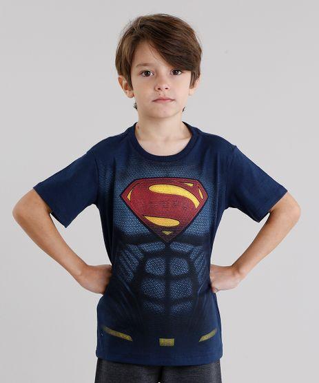 Camiseta-Infantil-Super-Homem-Manga-Curta-Gola-Redonda-Azul-Marinho-9042210-Azul_Marinho_1